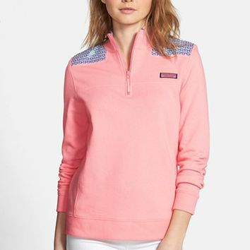 Women's Vineyard Vines 'Shep' Batik Dot Sweatshirt
