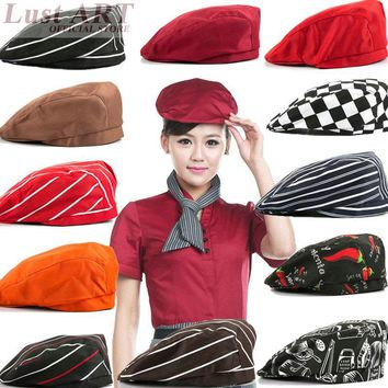 Food Service restaurant cooking hat new design hotel kitchen chef cap fashion cook clothes B013C