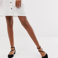 ASOS DESIGN Lifetime pointed ballet flats | ASOS