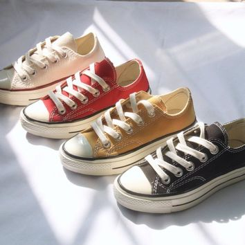 Converse All Star Chuck Taylor 1970s Toddler Kid Shoes Child Low Top Sneakers