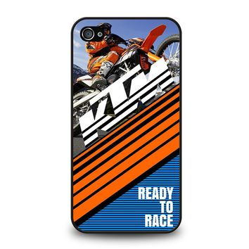 KTM READY TO RACE iPhone 4 / 4S Case