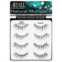 Ardell - Strip Lashes Multipacks - 4 Pack Demi Wispies Black