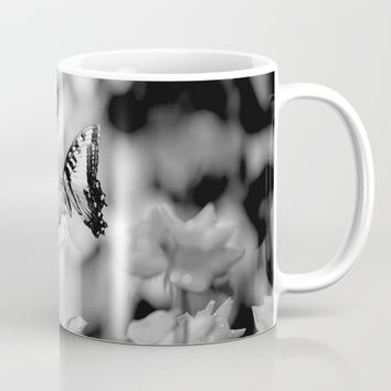 Butterflies Are Free Mug by Theresa Campbell D'August Art
