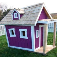 Topsy Turvy Playhouse In Choice Of Color : Luxury Playhouses at PoshTots