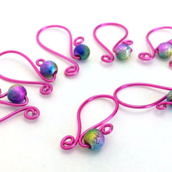 Stitch Marker - Row Counter - Size US # 15 - Removable Markers - Knitting Accessories - Knitting Markers - Crochet Counters