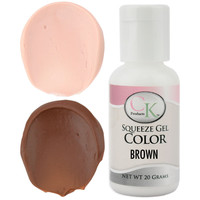Brown CK Gel Paste Food Coloring
