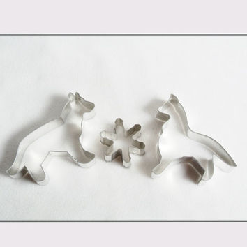 Cookie Cutters Dogs and Star