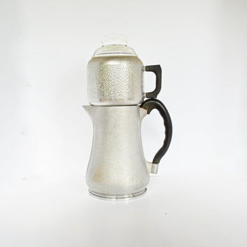 Guardian Service Drip Coffee Maker, Vintage Guardian Ware Aluminum Coffee Pot, Aluminum Cookware