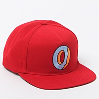ODD FUTURE Single Donut Red Snapback Hat - Mens Backpack - Red - One