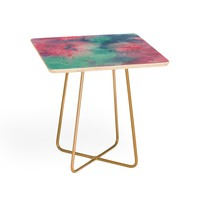 Viviana Gonzalez Ink Play Abstract 02 Side Table | Deny Designs