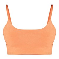 Shape Tangerine Strappy Crop Top