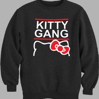 Hello Kitty Gang Sweater for Mens Sweater and Womens Sweater *