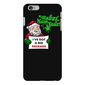 heapy new year funny santa claus christmas iPhone 6 Plus/6s Plus Case