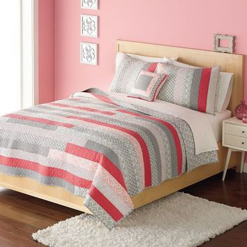 Home Classics Hailey Statements Quilt (Orange)