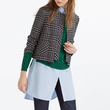 SHORT BLAZER - BLAZERS-WOMAN | ZARA United Kingdom