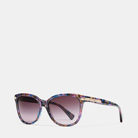 Tag Temple Cat Eye Sunglasses