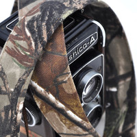 RealTree Camo Camera Strap - 1.5 inch width - Real Tree