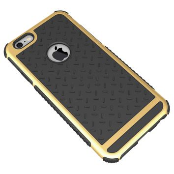Ultra Thin Shockproof Rubber PC and TPU Hybrid Case Cover For Apple iPhone 5 5S SE 6 6S 6 plus High Quality Shell