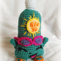 Shopkins Inspired Sunny Screen; Crochet Pattern; PDF