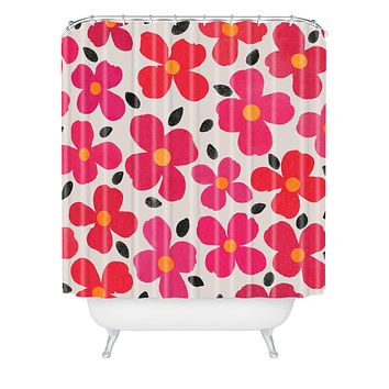 Garima Dhawan Dogwood Berry Shower Curtain