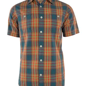 Cremieux Classics Men's Plaid Weathered Slub Shirt
