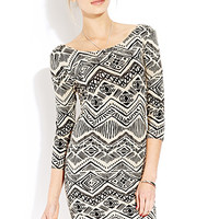 Worldly Girl Bodycon Dress