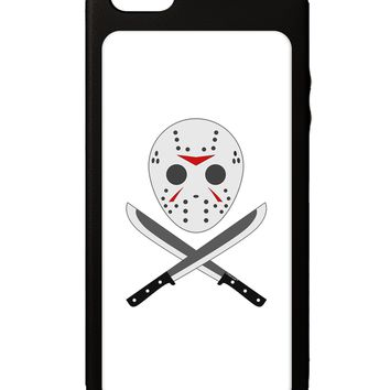 Scary Mask With Machete - Halloween iPhone 5C Grip Case