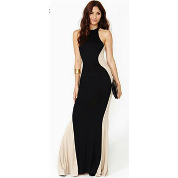 Ball Gown Summer Fashion Mermaid Stylish Slim One Piece Dress = 5826367745