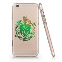 Slytherin Logo Clear Transparent Plastic Phone Case for Iphone 6 6s_ SUPERTRAMPshop (iphone 6)