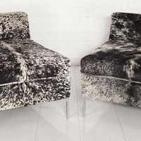 www.roomservicestore.com - Cowhide Chair