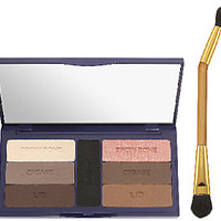 tarte Eye Solutions Colored Clay Shadow Palette with Brush — QVC.com