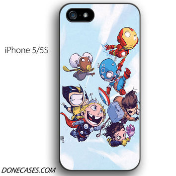 the avengers cute babies iPhone 5 / 5S Case