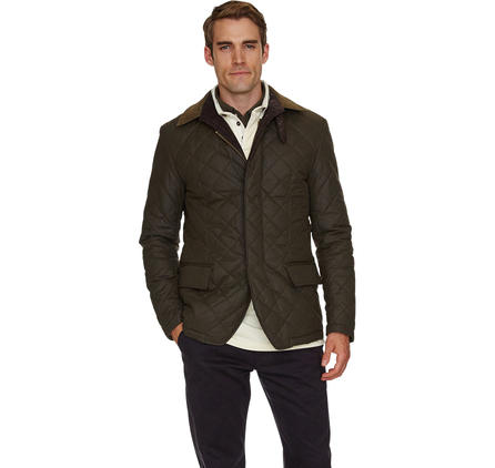 Tapton Quilted Jacket From Barbour New England Closet