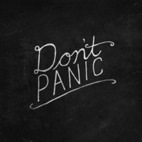 Don't Panic Canvas Print by Zach Terrell