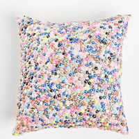 Plum & Bow Sequin Medley Pillow