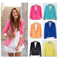 #3212 b Candy Color Cultivate one's morality Suit