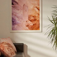 Debbie Carlos Crystalscapes Art Print | Urban Outfitters