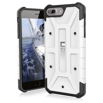 UAG iPhone 8 Plus / iPhone 7 Plus / iPhone 6s Plus [5.5-inch screen] Pathfinder Feather-Light Rugged [WHITE] Military Drop Tested iPhone Case