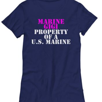 Military - Marine Gigi - Property of a U.S. Marine