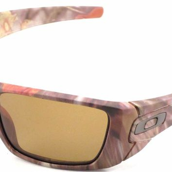 New Oakley Sunglasses Fuel Cell King's Camo Woodland Polarized #9096-D9 In Box