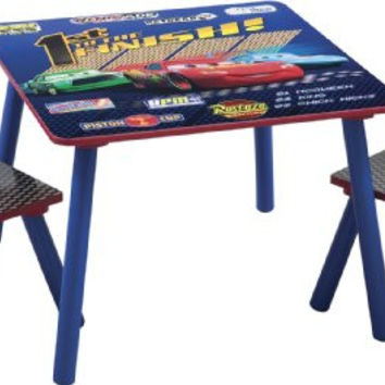Delta Children Table & Chair Set, Disney/Pixar Cars