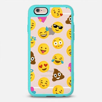 Latest Fashion Tech iPhone Case by Casetify | Emoji Love Design by Nour Tohme (iPhone 6, 6s, 6 Plus, 6s Plus, 7)