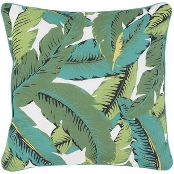 Outdoor Banana Leaf Pillow