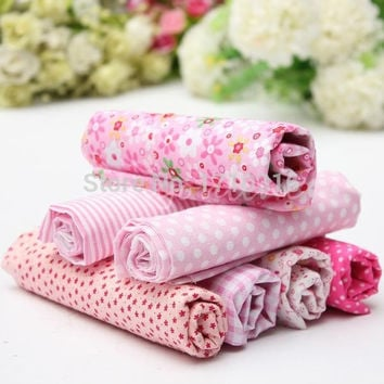 7 Assorted Pre-Cut Charm Cotton Quilt Fabric 19.7 for Sewing DIY Quilting Patchwork Tissue Textile = 1930393924