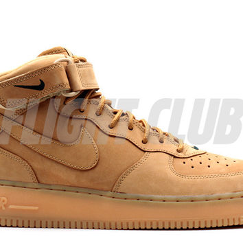 "air force 1 mid 07 prm qs ""flax"""