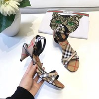 BURBERRY  Fashion and leisure high heels