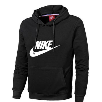 Nike Long Sleeve Knit Hoodies With Hat