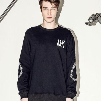 PEAPIX3 Summer Cotton Casual Pullover Long Sleeve Couple Men's Fashion Hoodies [4918374852]