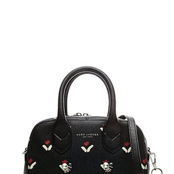 Embellished Tulip Small Leather Bauletto - Marc Jacobs