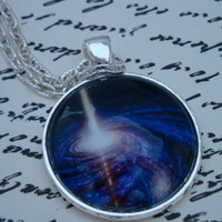 Galaxy XI-handmade Glass Pendant on Luulla